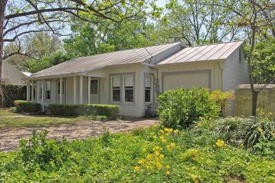 Gillespie County Single Family Home For Sale: 205 W Creek St