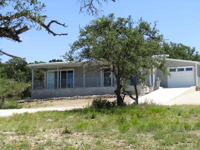 Blanco County Single Family Home For Sale: 234 Twin Sisters