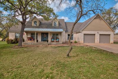 Fredericksburg Single Family Home Under Contract W/Contingencies: 230 Dee St
