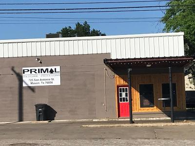 Mason County Commercial Under Contract: 725 San Antonio St