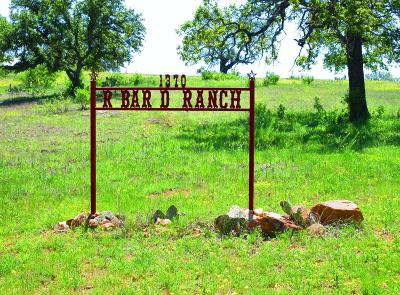 Llano County Single Family Home For Sale: 1370 County Road 414