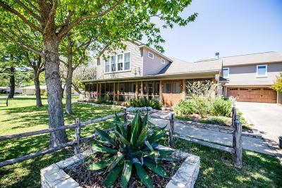 Fredericksburg Single Family Home For Sale: 306 S Acorn St