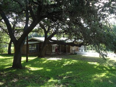 Blanco County Single Family Home Under Contract W/Contingencies: 202 E 8th Street
