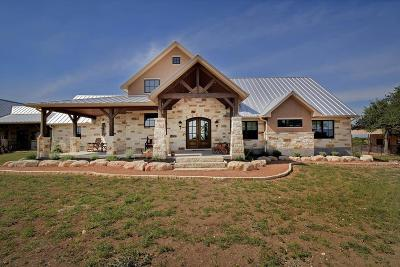 Blanco County Single Family Home For Sale: 1555 Brushy Ridge Trail