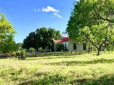 Fredericksburg TX Single Family Home For Sale: $1,400,000