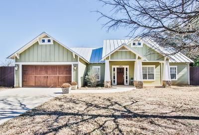 Fredericksburg Single Family Home Under Contract W/Contingencies: 1304 Pike Lane
