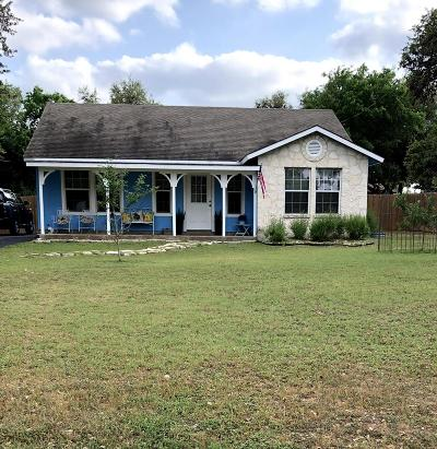 Blanco County Single Family Home Under Contract: 203 Old Austin Hwy