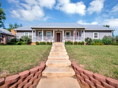 Mason County Single Family Home Under Contract W/Contingencies: 600 S Live Oak St
