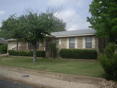 Gillespie County Single Family Home For Sale: 1019 Avenue B