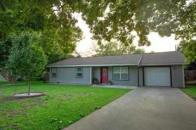 Gillespie County Single Family Home Under Contract W/Contingencies: 608 Kristofer