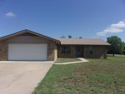 Llano Single Family Home For Sale: 1011 E Wallace