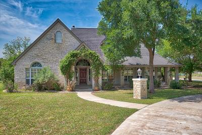 Kerrville Single Family Home For Sale: 335 Saddle Club Drive
