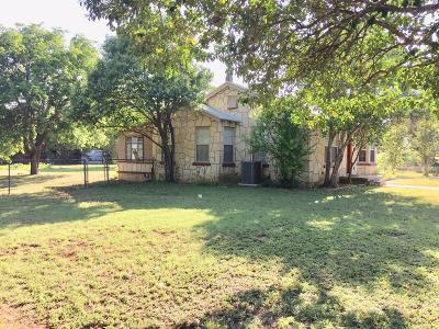 Blanco County Single Family Home Under Contract: 917 7th Street
