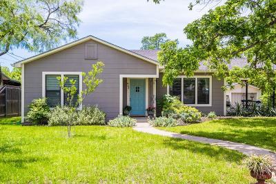 Fredericksburg Single Family Home Under Contract: 403 E Schubert St