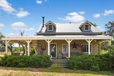 Fredericksburg Single Family Home Under Contract W/Contingencies: 216 Cedar Hills Dr