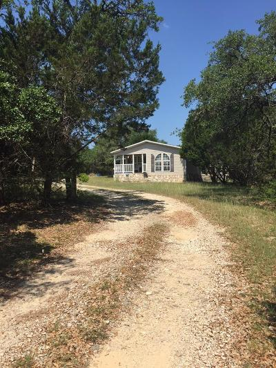 Blanco County Single Family Home For Sale: 106 Rangeland