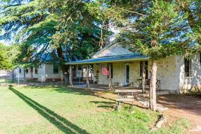 Gillespie County Single Family Home For Sale: 496 Ranch Rd 1631