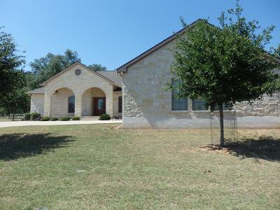 Fredericksburg Single Family Home Under Contract W/Contingencies: 816 Kimberly Lane