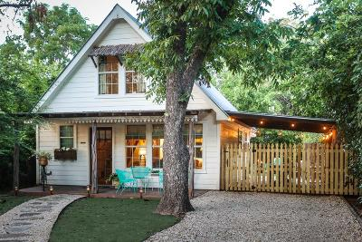 Fredericksburg Single Family Home Under Contract W/Contingencies: 330 W Morse St