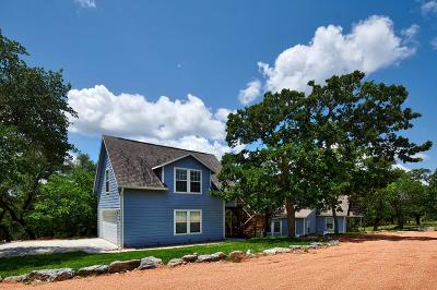 Fredericksburg Single Family Home Under Contract W/Contingencies: 3408 Grape Creek Rd