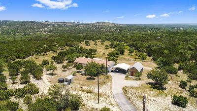 Blanco County Single Family Home For Sale: 231 Headwaters Ranch Rd