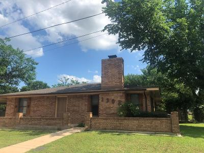 Llano Single Family Home For Sale: 1302 E Luce St