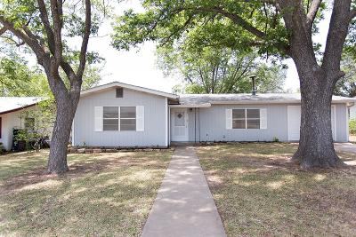 Gillespie County Single Family Home For Sale: 323 W Nimitz St