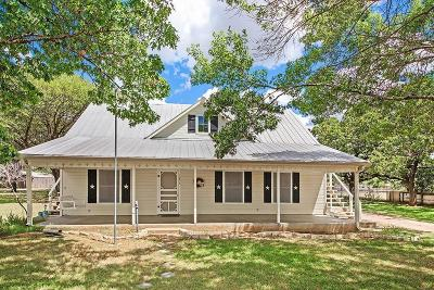 Fredericksburg Single Family Home Under Contract W/Contingencies: 1203 N Adams St