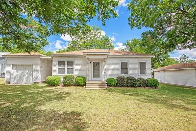 Fredericksburg TX Single Family Home For Sale: $320,000