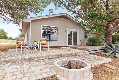 Gillespie County Single Family Home Under Contract W/Contingencies: 4329 E Old San Antonio Rd