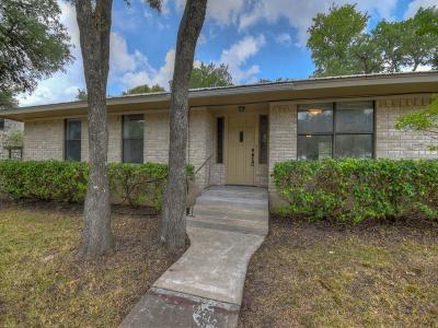 Blanco County Single Family Home Under Contract: 1313 Oak Ridge