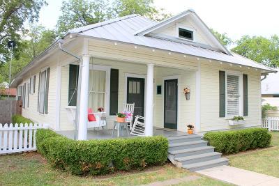 Llano County Single Family Home Under Contract: 204 E Sandstone