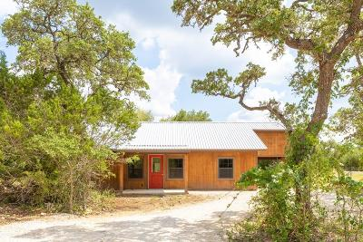Blanco County Single Family Home Under Contract: 470 Oakcrest Dr.