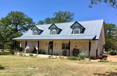 Fredericksburg Single Family Home For Sale: 14291 N Hwy 16 N.