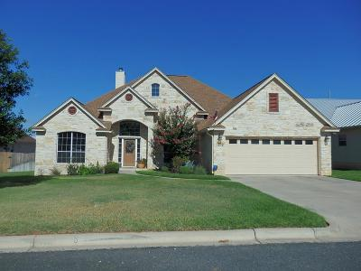 Fredericksburg Single Family Home Under Contract W/Contingencies: 1208 Nicole Lane