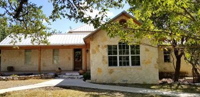 Harper Single Family Home Under Contract W/Contingencies: 724 Dallas Josie Rd