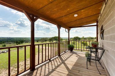 Blanco County Single Family Home Under Contract: 674 SW River View Rd