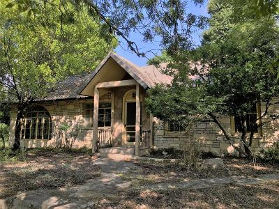 Kerr County Single Family Home For Sale: 280 Elm Pass Rd