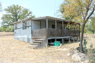 Llano County Single Family Home For Sale: 102 Canyon Ln.