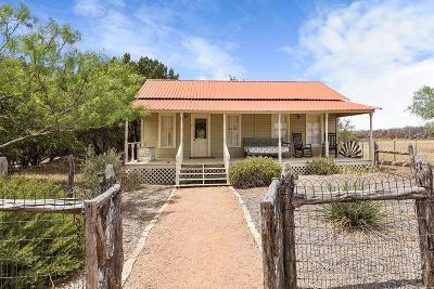 Fredericksburg TX Single Family Home For Sale: $1,495,000