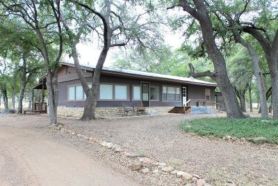 Llano County Single Family Home Under Contract: 104 Canyon Ln.