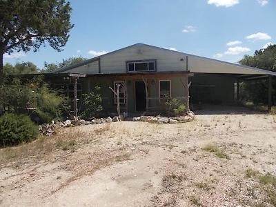 Gillespie County Single Family Home Under Contract W/Contingencies: 1432 Thrill Hill Rd