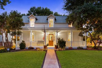 Fredericksburg TX Single Family Home Under Contract W/Contingencies: $829,900