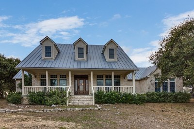 Gillespie County Single Family Home For Sale: 434 Cave Creek Rd