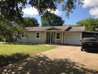 Blanco County Single Family Home For Sale: 502 E Ash Dr