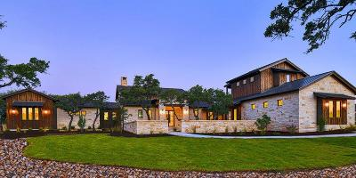 Fredericksburg TX Single Family Home For Sale: $1,945,000