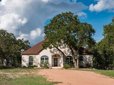 Fredericksburg Single Family Home Under Contract W/Contingencies: 3645 Grape Creek Rd
