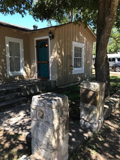 Gillespie County Single Family Home For Sale: 151 N First St