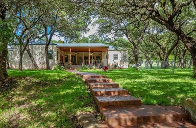 Fredericksburg TX Single Family Home For Sale: $587,000