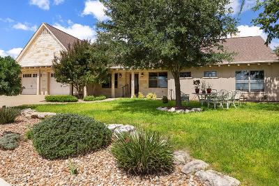 Fredericksburg TX Single Family Home Under Contract W/Contingencies: $429,000